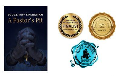 A Pastor's Pit wins 3 awards: American Fiction Awards, Impact Awards, and Maxy Awards